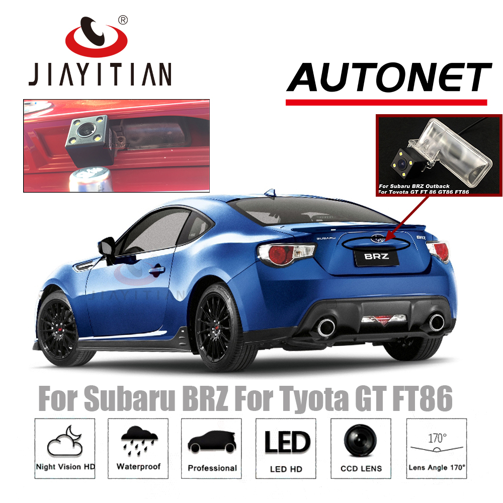 JIAYITIAN Rear View Camera For Subaru BRZ 2012~2018 Scion FRS Reverse Camera/CCD/Night Vision/license Plate Camera Backup Camera