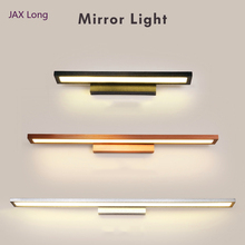 Modern Led Mirror Light AC90-260V LED Wall lights Mounted Industrial Wall Lamp Bathroom hanging Light Waterproof Stainless Steel luckyled modern led mirror light 3w 5w 7w 90 260v waterproof wall lamp bathroom lighting wall mounted industrial stainless steel