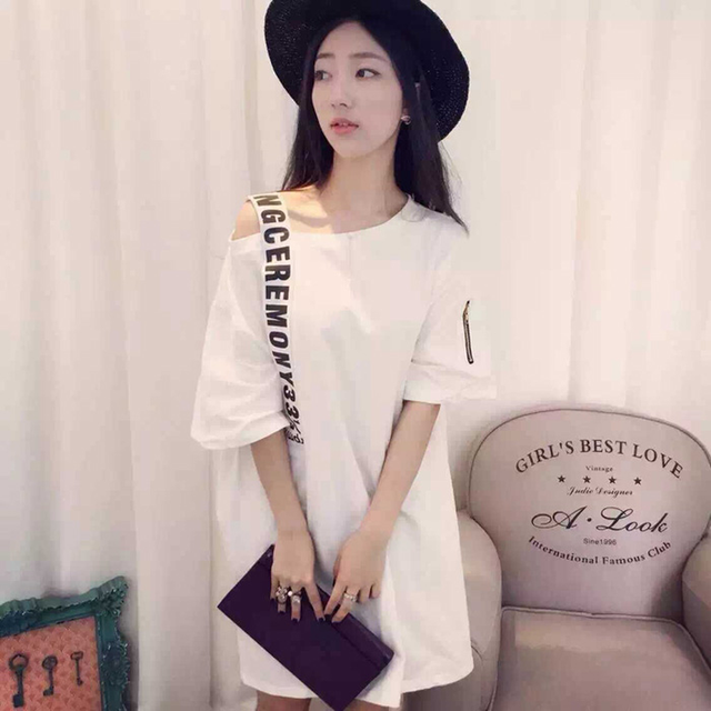 b29289fd0 Nova marca de moda estilo verão Roupas femininas ulzzang Feminino carta  ocasional padrão de impressão bolsa