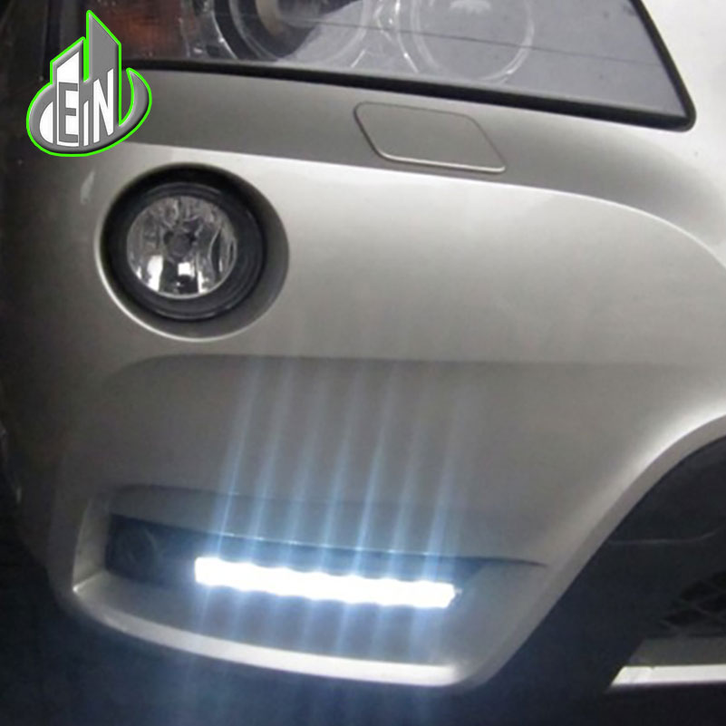 Car Styling LED DRL Daytime Running Light For BMW X3 F25 2011 2012 LED Waterproof Front Bumper Fog Lamps Daylight DRL