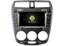 Android CAR DVD GPS For HONDA CITY 2008 2012 Support DVR WIFI DSP DAB OBD Octa