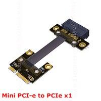 8Gbps Mini PCI E MPCIe WAN WiFi To PCIe X1 PCI E 1x Riser Adapter Cards