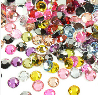 Promotion 2mm 2.5mm 3mm 10000pcs Mixed Colors Flatback Rhines
