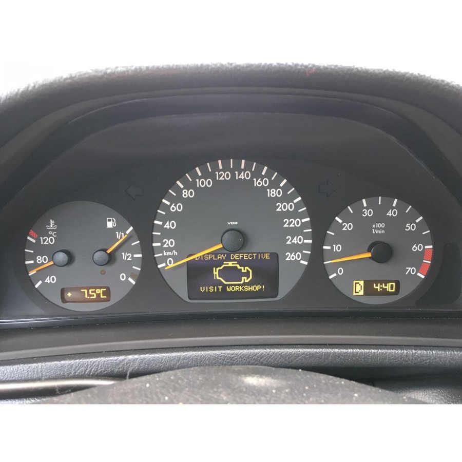 3pcs For Mercedes W210 E320 E430 VDO Instrument Middle Right