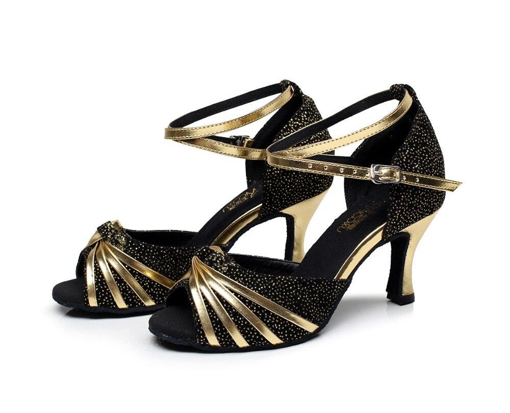4cc892d92 نساء حزب الأحذية النسائية اللاتينية قاعة رقص الصلصا الاجتماعية تانجو سامبا  الرقص أحذية عالية الكعب 6/7. 5/8. 5 سنتيمتر لينة وحيد 1598