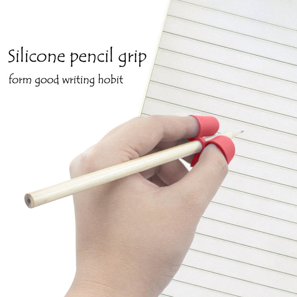 New Children Pencil Holder Pen Writing Aid Grip Posture Correction Tool ...