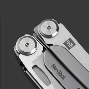 Image 5 - 원래 xiaomi mijia huohou 다기능 포켓 접는 나이프 420j2 스테인레스 스틸 블레이드 사냥 캠핑 생존 도구