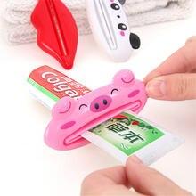 1 шт Пластиковый Дозатор зубной пасты для ванной комнаты