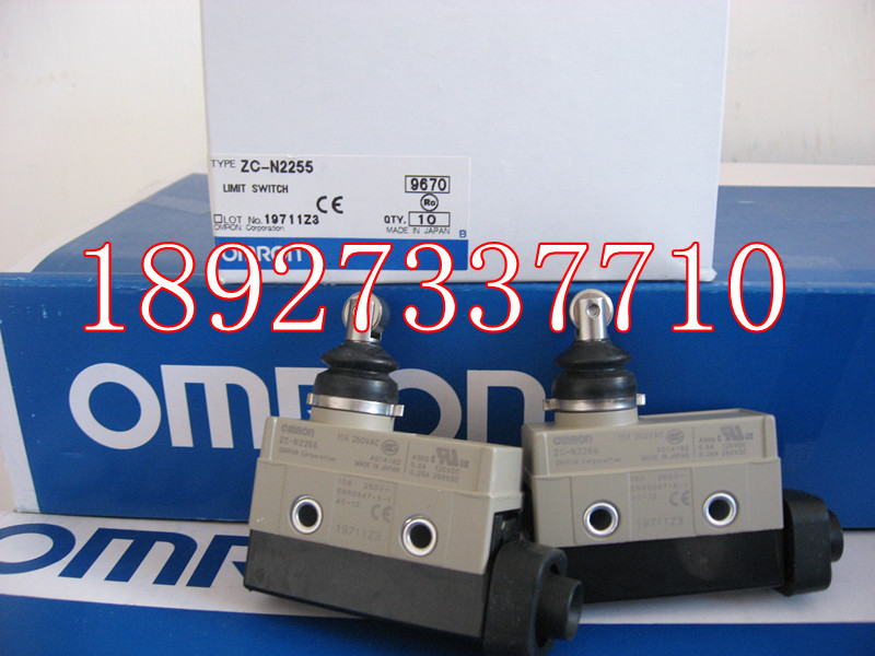 [ZOB] Supply new original authentic Omron omron limit switch ZC-N2255  --2PCS/LOT [zob] supply of new original omron omron photoelectric switch e3jk 5m1 n instead of e3jk tr11 c 2pcs lot