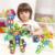 Mylitdear enlighten robot 108 unids regular diseñador magnético educativo ladrillos de construcción bloques de construcción de juguetes