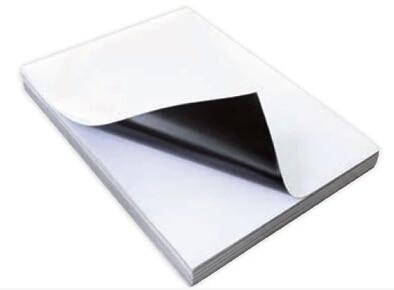 Printable Magnet Sheets A4 Ink Jet Printable Flexible Magnet Semi-Gloss Photo Paper ,DIY Fridge Magnet,40 Sheets Per Pack