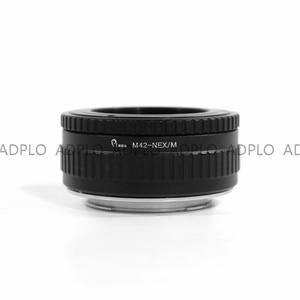 Image 2 - M42 NEX/M Pixco ayarlanabilir odaklama makro Helicoid adaptörü tüp takım elbise için M42 Lens Sony E dağı kamera NEX a5000 A3000 5T 3N