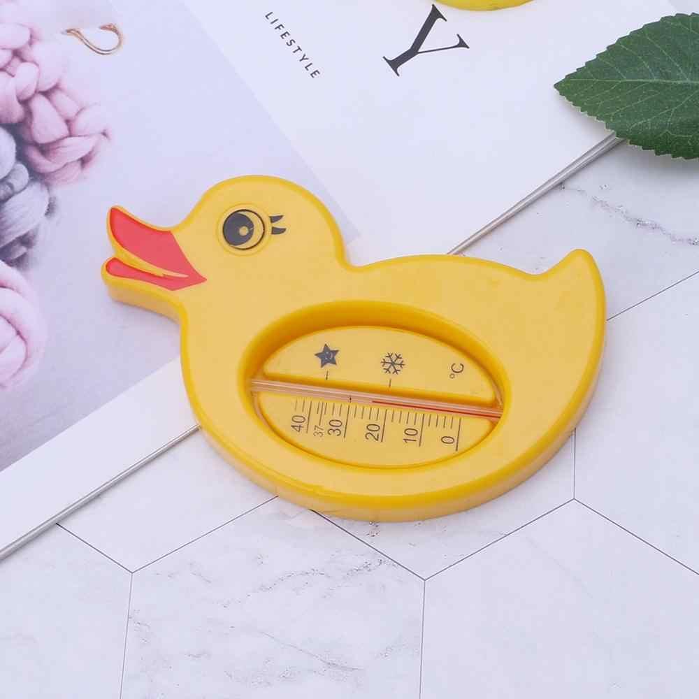 ベビーシャワー温度計水温黄色アヒル漫画かわいいバス浴槽入浴用品子供幼児ルーム屋内センサー