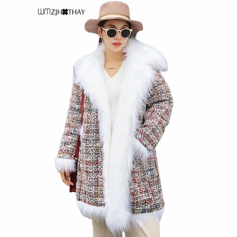 Piel Otoño Moda Abrigo Lana Mujer Grande Largo Rosado Nueva Gris nXdxWqBA ae3a73be5430