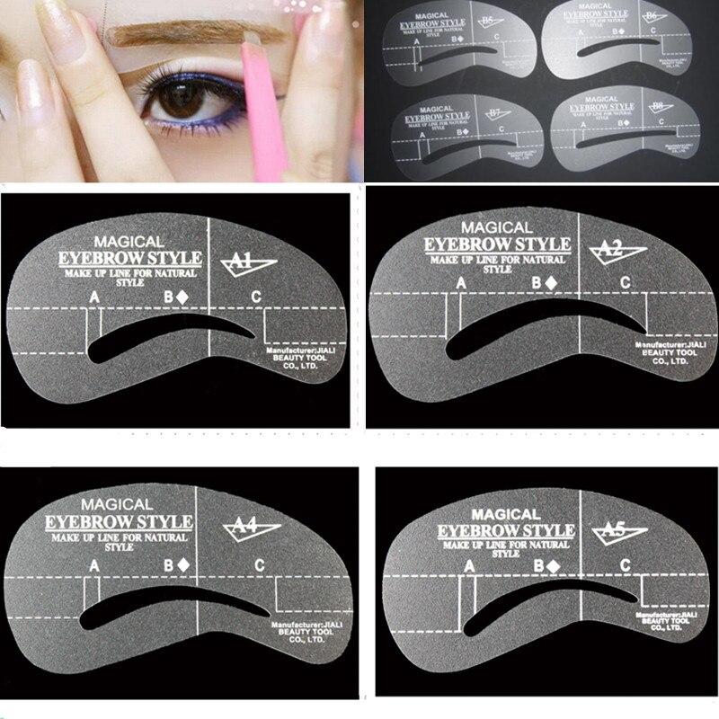 24 Reusable Eyebrow Stencils Wellness Lifestyle