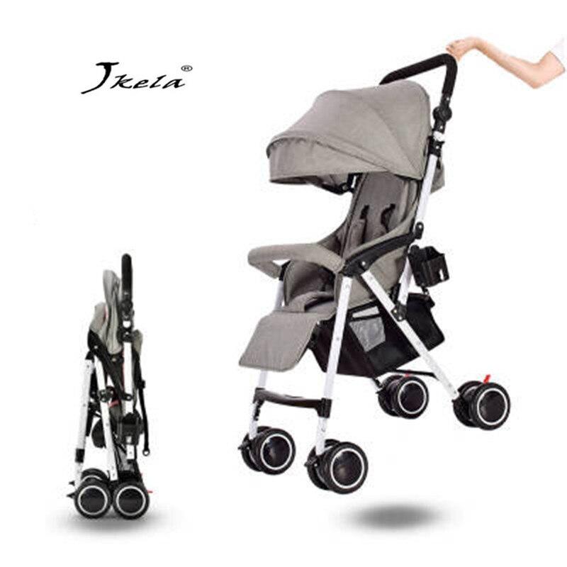 2019 bébé poussette 3 en 1 multifonctionnel avion léger Portable haut paysage couché ou amortissement chariot pliant