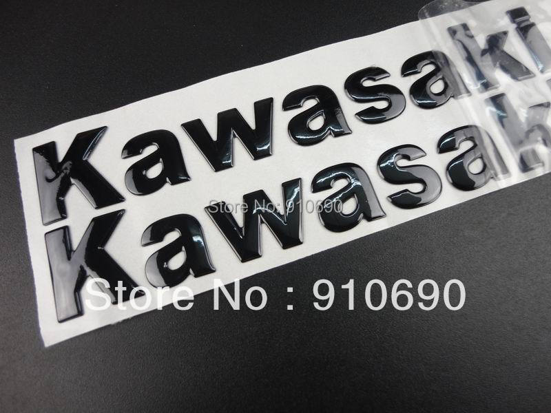 3d Fairing Body Decal Sticker Tank Badge Emblem For Kawasaki