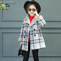 Girls Clothes Girl Coat Child Winter Double Breasted Outerwear Jacket For Girls Everything For Children Clothing And Accessories