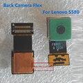 1 pçs/lote Alta Qualidade Voltar Câmera Traseira Módulo Flex Cable Reparação Peças de Reposição Para Lenovo S580 Telefone Peças Com Trilha código