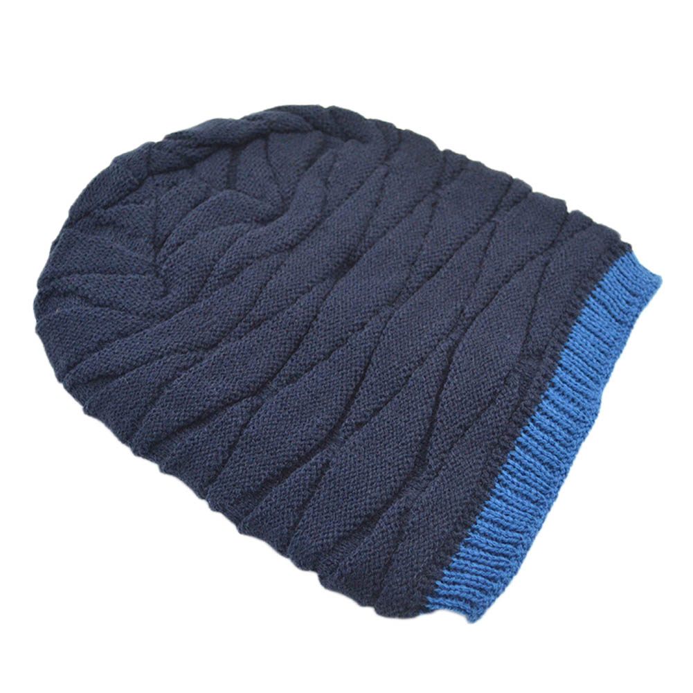 Freeshipping High Quality Rhombus Pattern Tricorne Knit Winter Warm