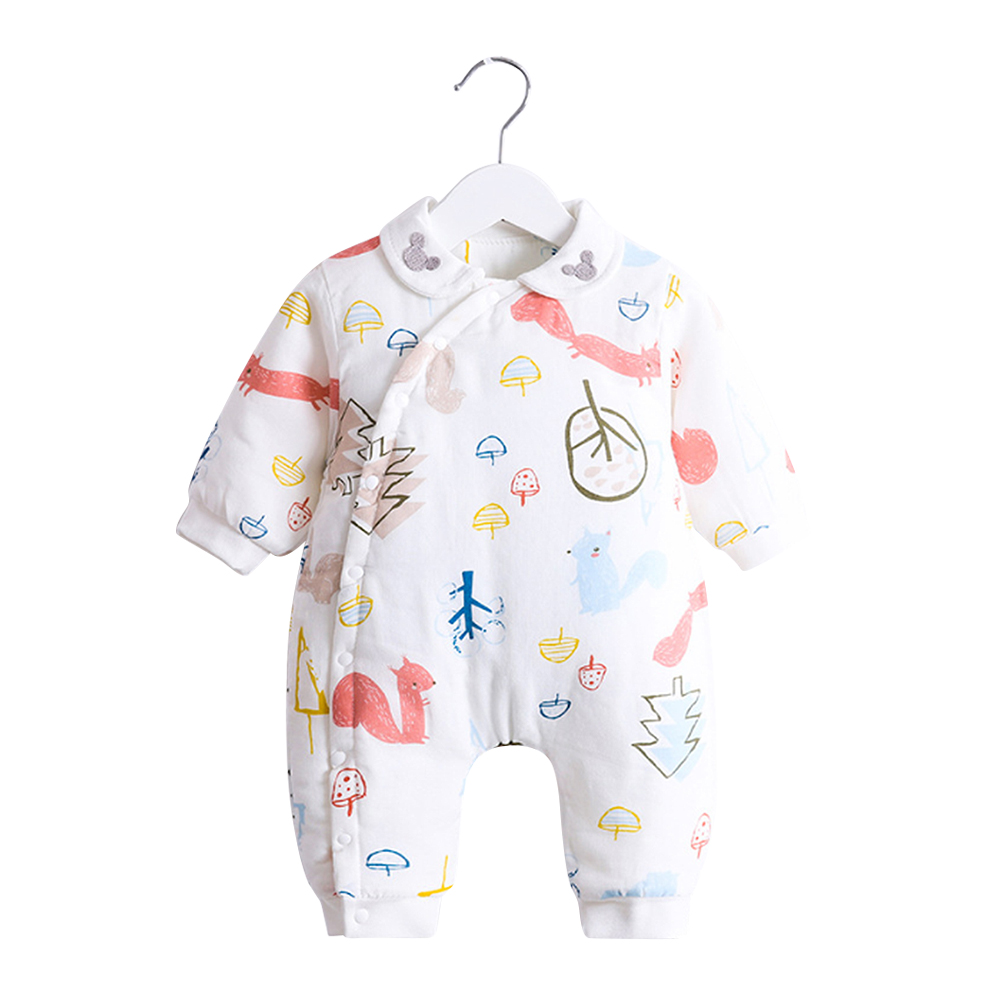 Rompers Newborn Autumn Spring Baby Soft Rompers Clothes Long Sleeves Boy Girls Cotton Baby Jumpsuit Baby Clothing