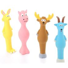Cute Pet Toys Puppy Dog Plush Sound Squeaky Chicken Legs Shape Cat Animal Chew Different Kinds Patterns Pets Bite Dolls