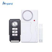 Беспроводной Домашней Окна Двери Охранной DIY Безопасности Охранной Сигнализации Магнитный Датчик Дистанционного Управления