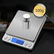 3000 г/0,1 г 200 г/0,01 г 500 г/0,01 г электронные весы на английском языке, цифровые весы, Многофункциональные весы без аккумулятора