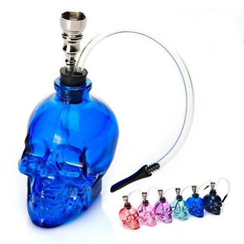 Mini skull Hookah Smoking Pipe Glass Pipe Water Pipe Small ...