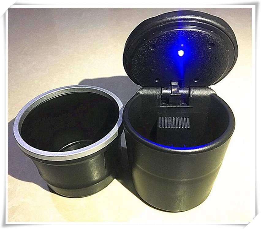 Car multi-functional ashtray <font><b>LED</b></font> light For <font><b>Renault</b></font> duster megane 2 logan Koleos Duster Sandero CLIO CAPTUR <font><b>modus</b></font> sceni c1 c2 c3 image