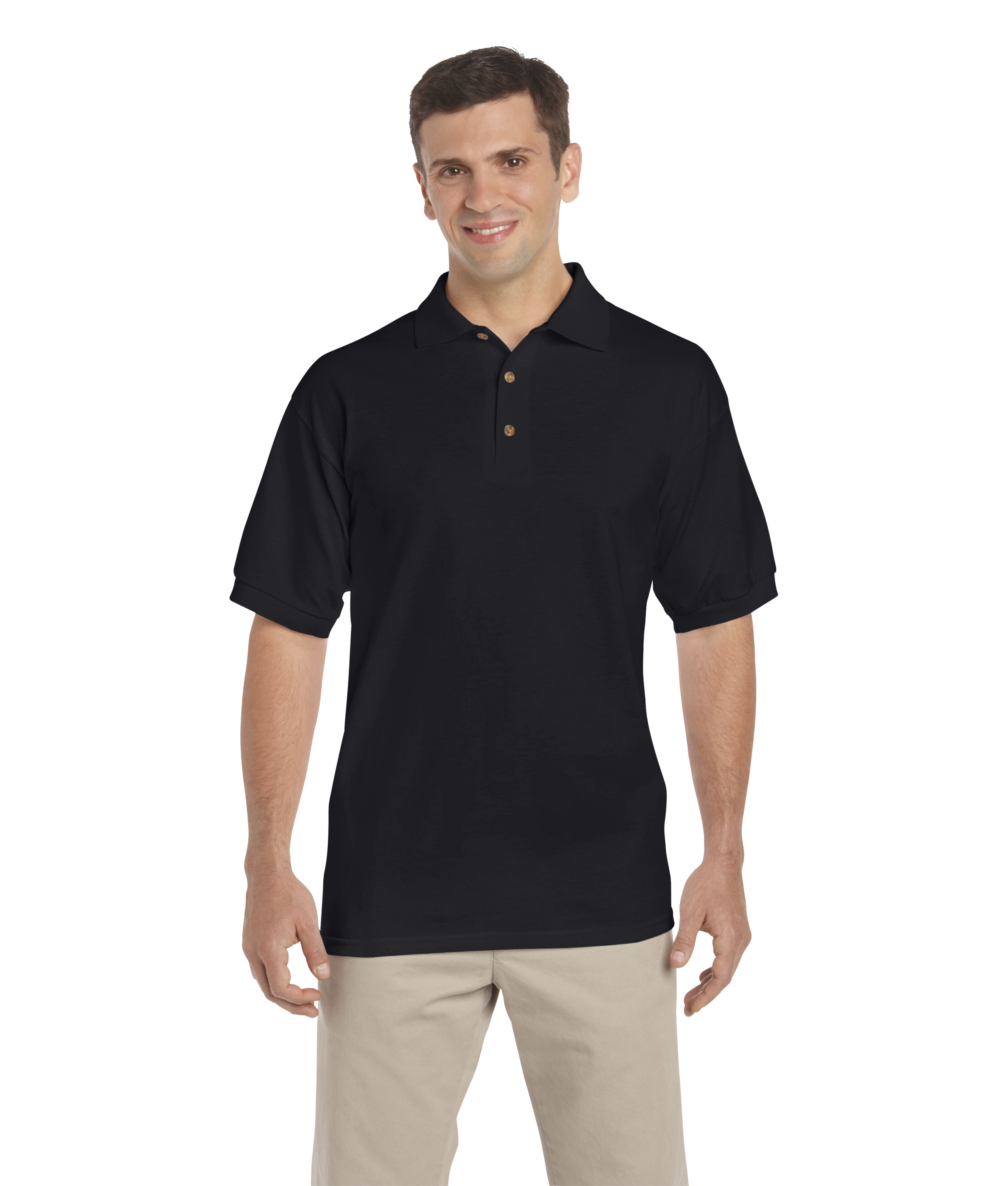 100 Cotton 2017 New Men Polo Shirt Men S Business Casual Solid