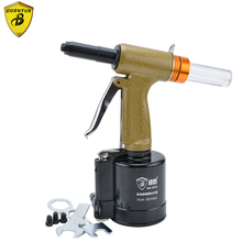 цена на Pneumatic Air Riveter Riveting Pull Plier Gun for Rivets 2.4mm 3.2mm 4.0mm 4.8mm Industrial Pneumatic Air Riveters Pulling Tools