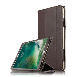 Funda de cuero de vaca para ipad air 3 10,5 pulgadas 2019 funda protectora tableta de cuero genuino para ipad air 3 2019 funda protectora