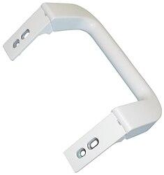Gałka do szuflady lodówki brama MIELE biała KS7533S  K3222SD