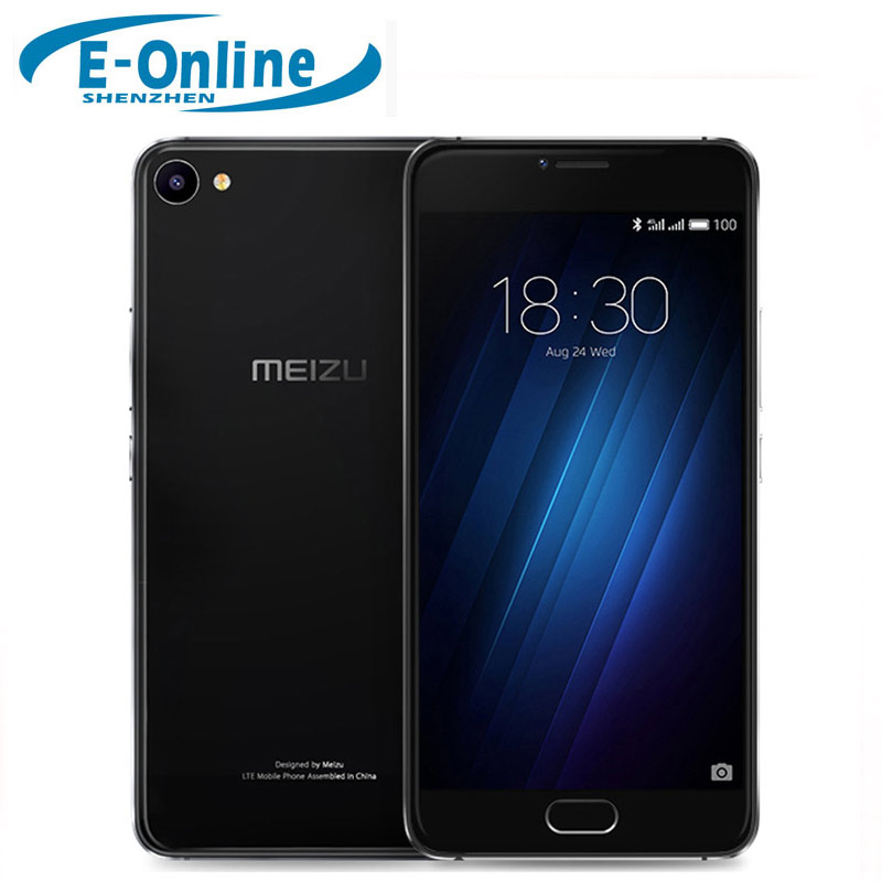 "Meizu U10 4G LTE Cell Phone MTK 6750 Octa Core 2GB RAM 16GB ROM 2.5D Glass 5.0"" Touchscreen 13.0MP Camera Fingerprint ID"
