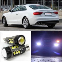 2pcs Brand New High Quality Superb Error Free 5050 SMD 360 Degrees LED Backup Reverse Light