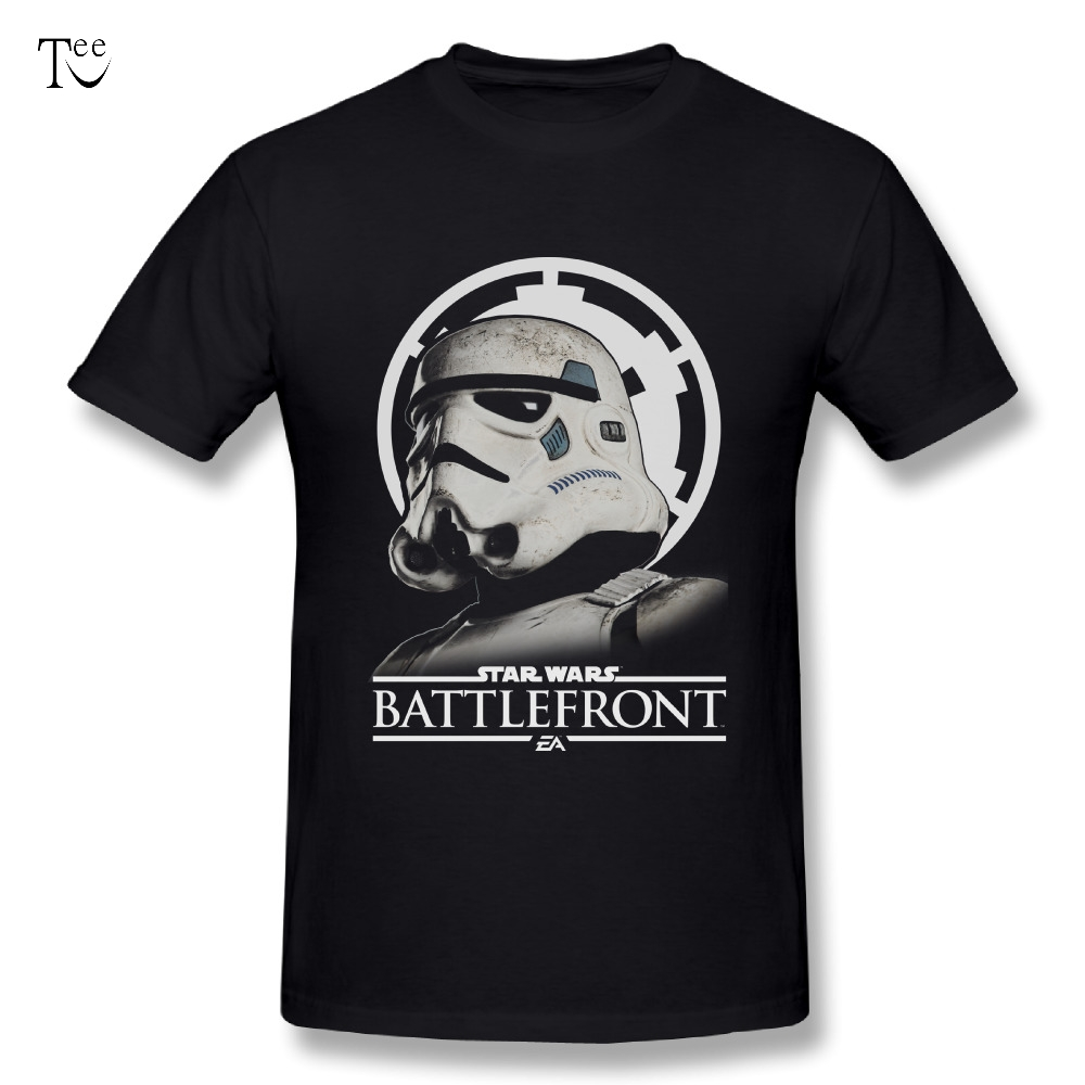Star war New Design Men Battlefront Stormtrooper T Shirts Comfortable T-Shirt Hot sale Tee Plus Size Tees Homme T shirt