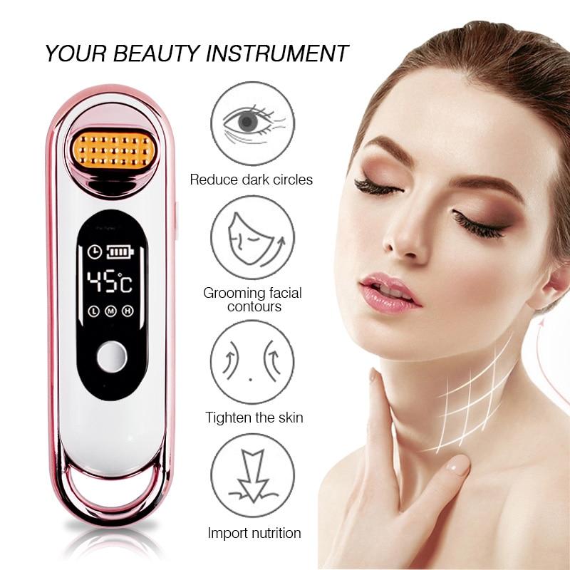купить Facial  RF Wrinkle Removal Beauty Machine Dot Matrix Facial Thermage Radio Frequency Face Lifting Skin Tightening RF Thermage онлайн