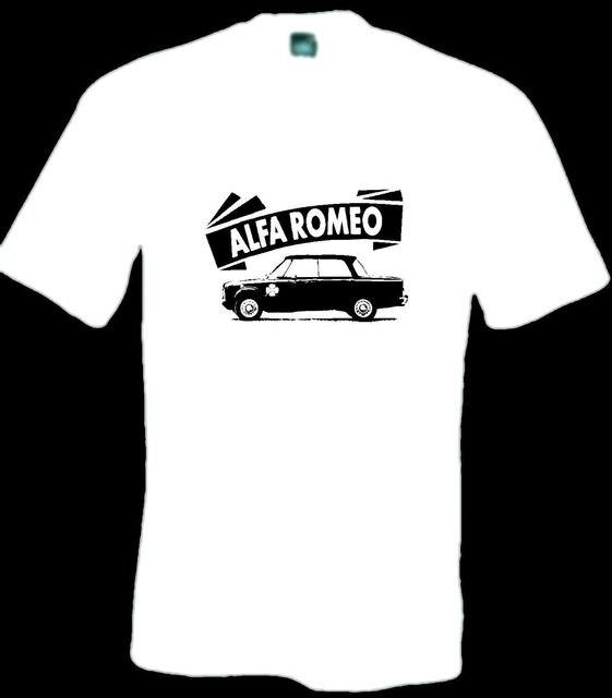 ed8352acc29 Alfa Romeo giulia Ti 105 series super 1300 classic car retro clothing T  shirt