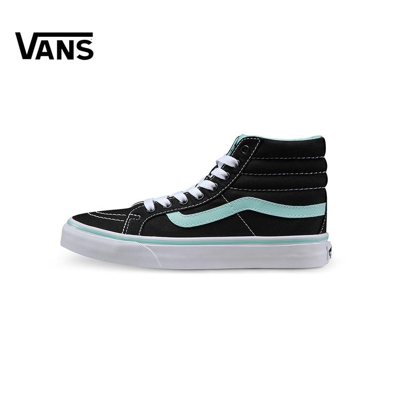 Original New Arrival Vans Womens Classic Sk8-Hi Slim Skateboarding Shoes Sneakers Canvas Comfortable Sport Outdoor VN-018IGZR кеды vans sk8 hi mte