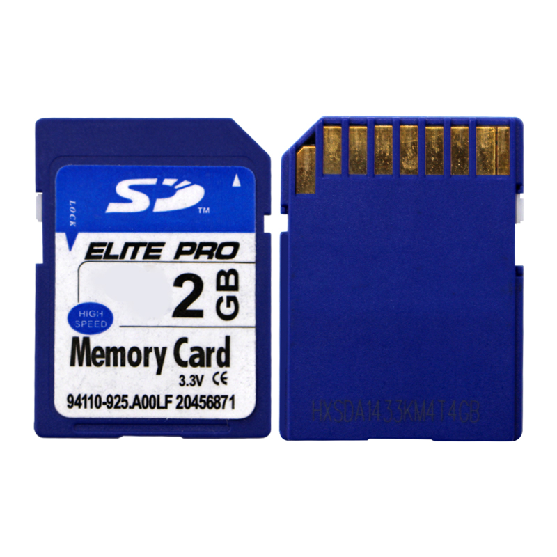 Factory Price Blue SD Card Real Capacity SD Flash Memory