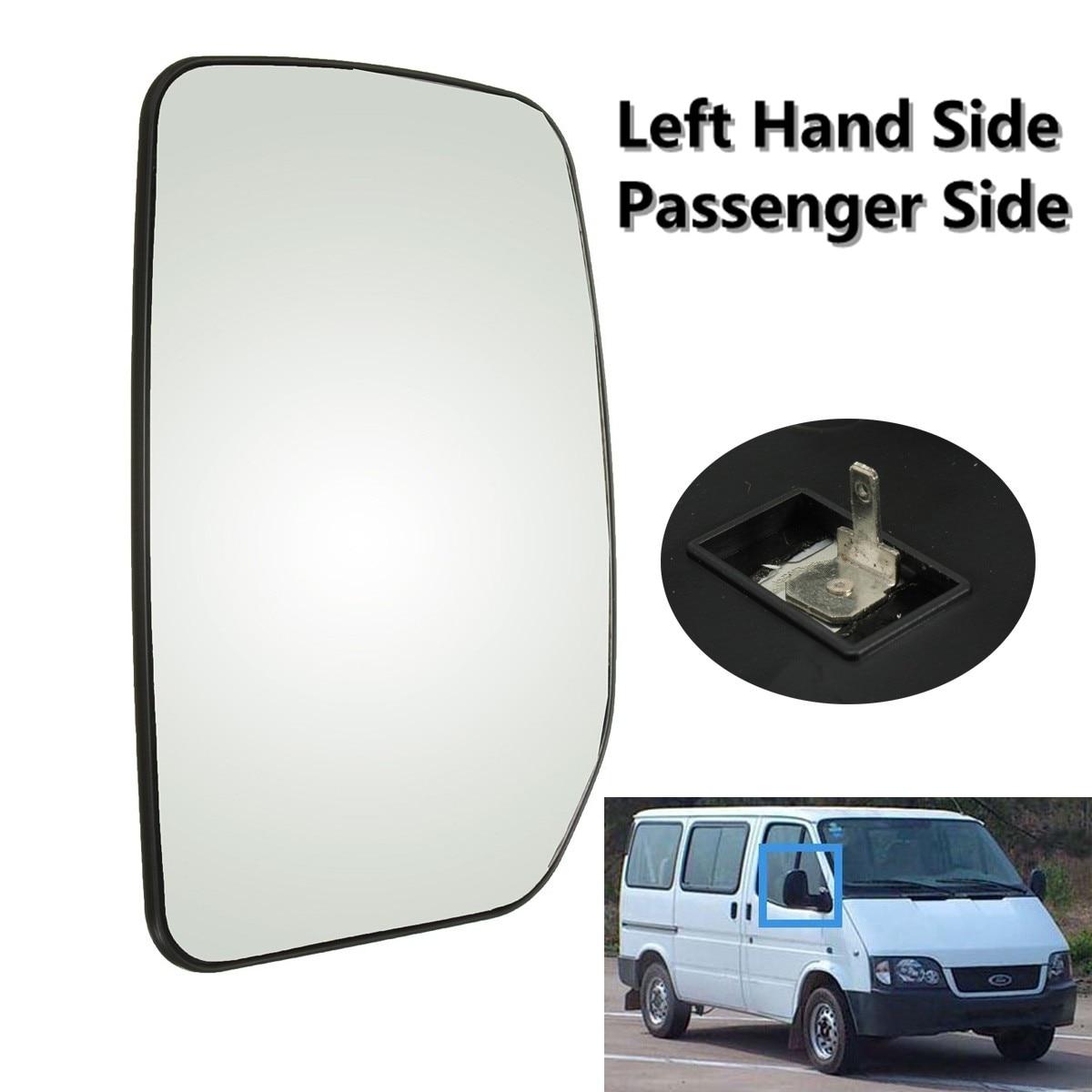Passager gauche Chauffée Côté Aile Porte Miroir Verre Pour Ford Transit 2000-2013 Voiture