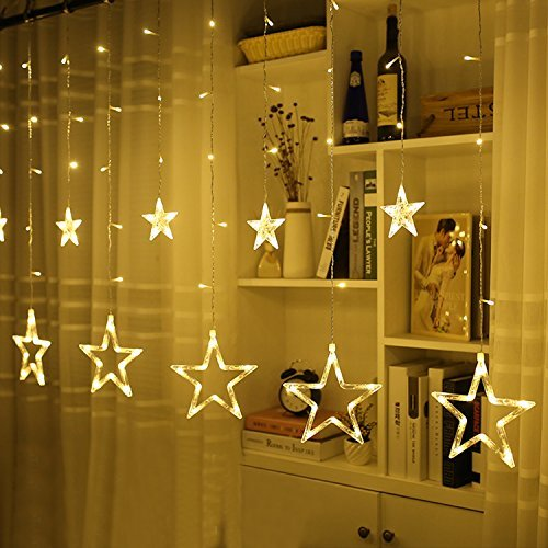 Active Szvfun Led Curtain String Lights 138 Led Star Light String 8 Modes Cortina De Led Waterproof For Home Christmas Party Decoration Harmonious Colors Lights & Lighting