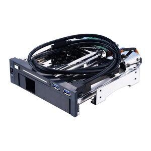 Uneatop ST7221U 2,5 + 3,5 дюйма двойной отсек 2-Bay SATA HDD чехол Корпус