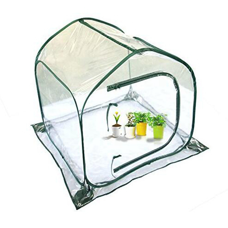 110*110*140cm Folding Greenhouse Floratube PE Material Domestic Greenhouse For Plants Mini Hothouse