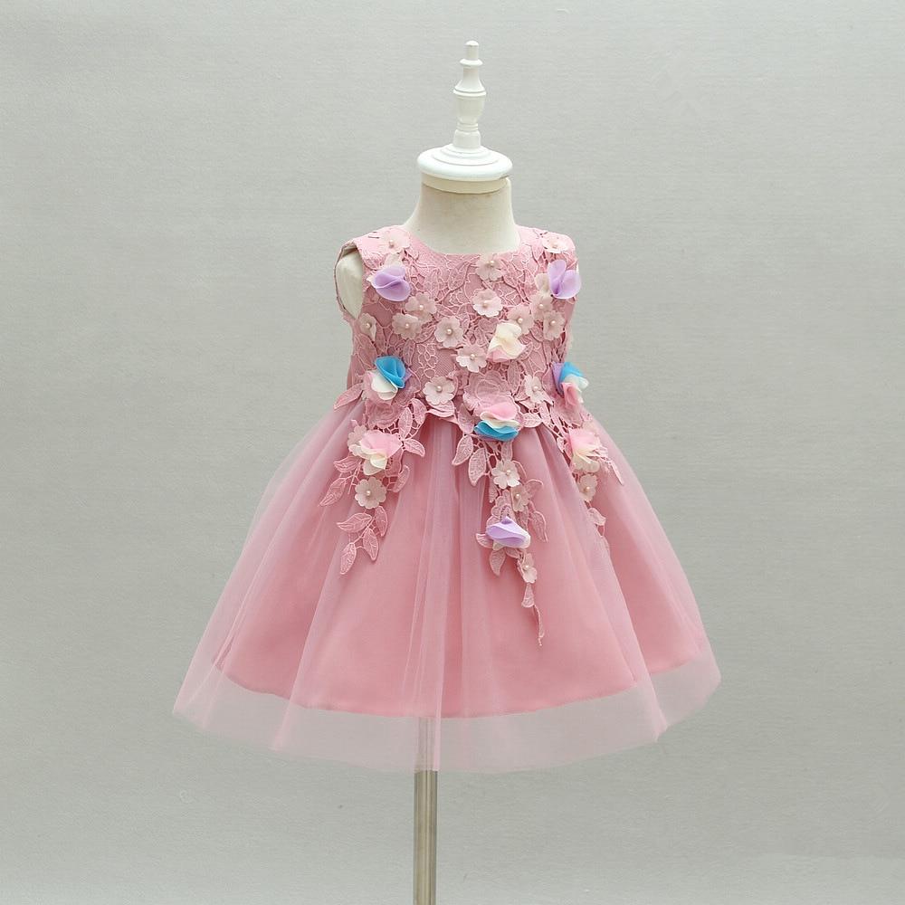 Flower Girl Baby Dress For Weddings 1 2 Year Old Birthday Formal ...