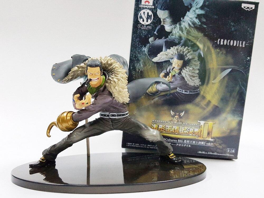 Tobyfancy One Piece Action Figures Sir Crocodile Model Toys Onepiece Anime SC DXF Crocodile Japan Figure Toy