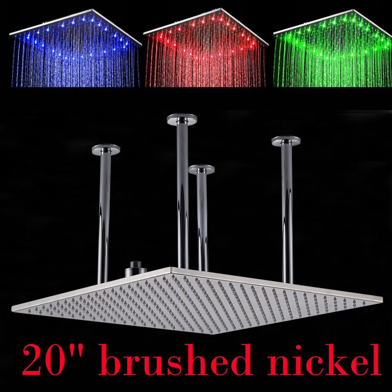 licht dusche duschkopf fernbedienung licht farbwechsel ss. Black Bedroom Furniture Sets. Home Design Ideas