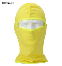 ICESNAKE Summer Breathable Motorcycle Face Mask Balaclava Moto Riding Absorb Sweat Quick Dry Cycling