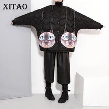 XITAO 2016 Korea style Women new arrival loose long sleeve parkas Europe fashion personality coat